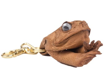 Cane Toad Keychain