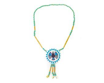Handmade Ojibwa Rosette Necklace