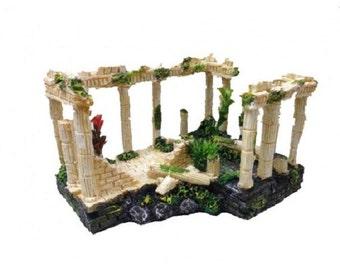 Fixture Displays® Ancient Ruins Ornament for Aquarium Fish Tank Decoration 12184