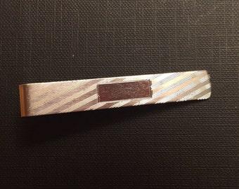 Handsome Vintage Sterling Tie Clip