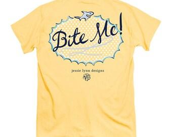 Bite Me - Adult T-Shirt - Itsa Girl Thing