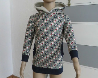 Hoodie hooded sweater Gr. 92-98