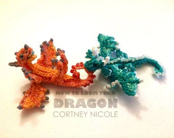Rainbow Loom Baby Dragon (Teal Only)