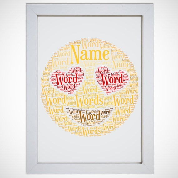Emoji Printable Personalized Wall Art