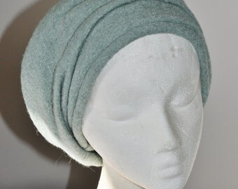 light blue children winter hat