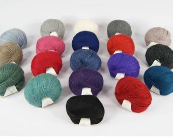 4PLY ALPACA YARN - Variety of Colours - Packs of 6 - CHASKA
