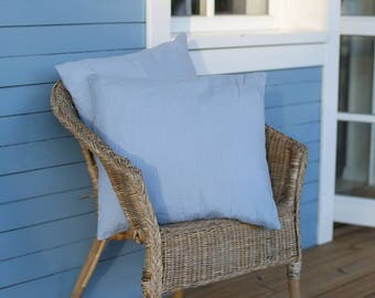 Set Of 2 Little Pillowcases | Home Decor | Sofa Pillowcases | Linen decorative pillow cover | Linen cushion cover | Decorative pillow cover