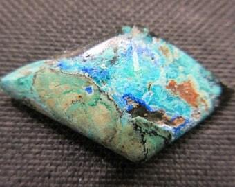 Azurite, shattuckite, turquoise, malachite, 5.2 grams