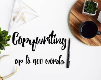 Writing Services | Copywriting | Up to 400 Words