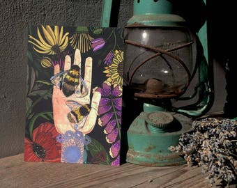 Little Bumblebee Postcard