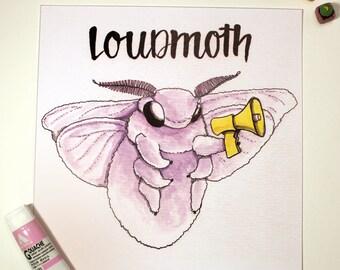 "Loudmoth ""Daze of Phrase"" Print"