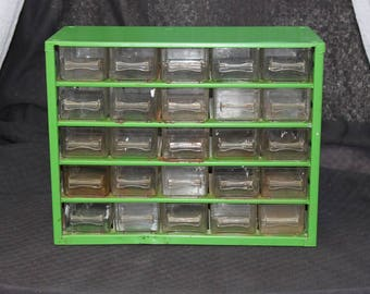 Raaco Tool Drawers / Organizer / Green Metal / Industrial