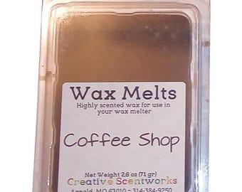 Coffeeshop Scented Wax Melts, Wax Cubes, Wax Tart, Wickless Candle, Melting Wax, Wax Melt, Coffee Shop, Scent Bar, Scent Cube, Wax Bar