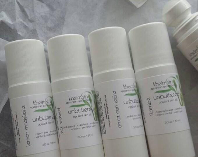 3 oz unbuttered opulent body oil