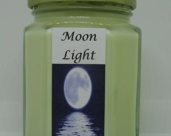 Moon Light ~ Soy Wax Candle