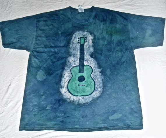 batik guitar t shirt. Black Bedroom Furniture Sets. Home Design Ideas