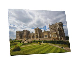 Castles and Cathedrals Windor Castle Near London Gallery Wrapped Canvas Print