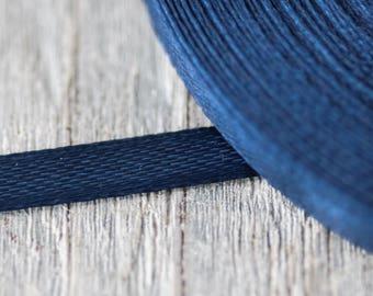 6mm Dark Blue Ribbon 35yard Royal Blue Ribbons Thin Ribbon Decorative Ribbon Florist Ribbon Craft Supply Gift Wrapping Ribbon Wedding Supply