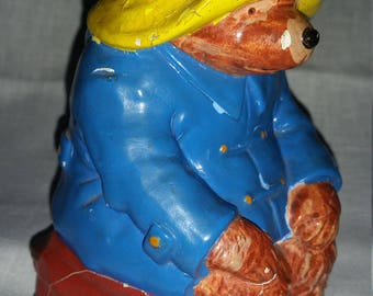 Antique Paddington Bear Book End