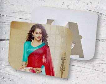 Beautiful Curly Hair Girl Personalized Sublimation Puzzle Frame PFPT39