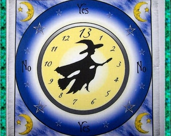Witching Hour Scrying Mat, Dowsing wiccan Magic Divination.