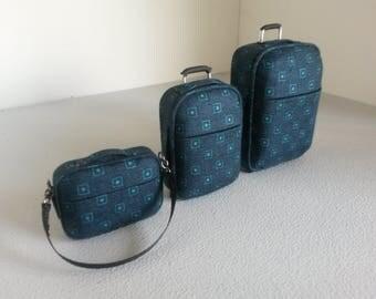 Modern Miniature Luggage Set 1:12 Scale