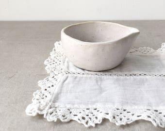 Little Creamer Jug, White stoneware