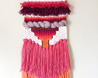 Sunset Color Ombre Weaving