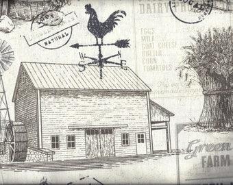 Farm Fresh Eggs Milk Farm House Curtain Valance