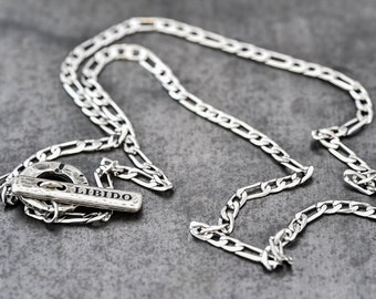 Mens Necklace, necklace for men, mens necklace chain, Mens Silver Necklace, Men's Jewelry, mens gift jewelry, men necklace, Charm Necklaces