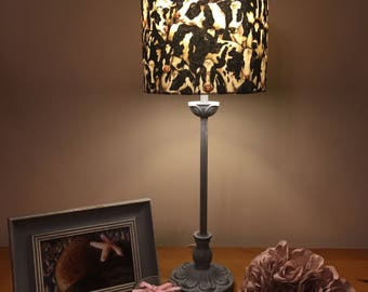 Camouflage Cow lampshade