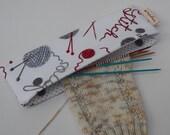 Knitting Print DPN Holder
