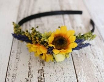 Headband - Sunflower
