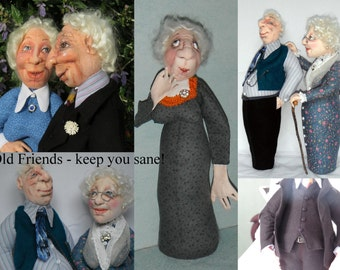 Old Friends keep you Sane by Sharon Mitchell