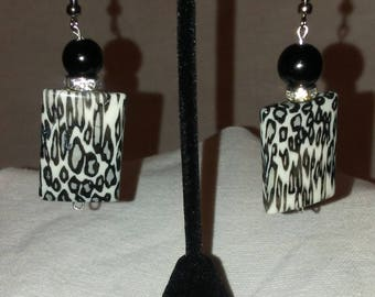 Zebra Stripes Earrings