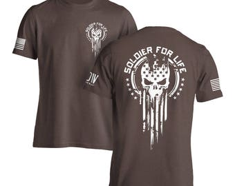 Soldier For Life Military Army T-Shirt