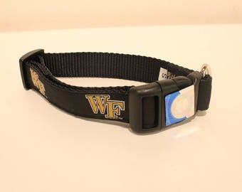 University of Wake Forest Dog Collar
