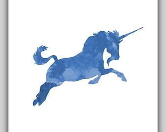 Unicorn art, unicorn print, unicorn prints, baby girl nursery, girl room decor, downloadable, nursery wall art girl, unicorn pictures, small