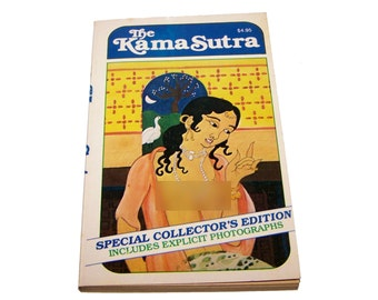 kama sutra book etsy. Black Bedroom Furniture Sets. Home Design Ideas