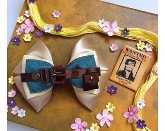 Flynn inspired bow - tangled inspired