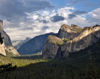 Entering Yosemite Valley early morning