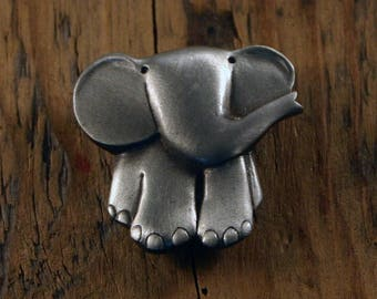 Cute Elephant Brooch