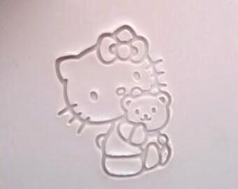 Mini Soap Stamp Hello kitty Soap Stamp DIY Soap Stamp Lovely Kitty Soap Stamp