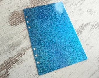 A5 dashboard sparkling blue