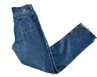 Vintage CRUEL GIRL High Waist Jeans// straight leg jeans size 11 long