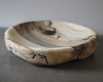 Spalted Beech Plate