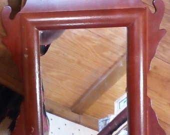 Solid Wood Mirror ..12x18 Mirror is 9x7