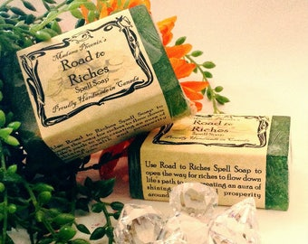 Road to Riches Natural Spell Soap
