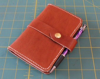 Leather Passport/Field Notes Folder