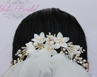 FAST Shipping!! Bridal Wreath, Bridal Headband Swarovski Wreath, Crystal Headband